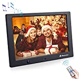 Digital Photo Frame 10 inch,Powerextra 1280 x 800 High Resolution Full IPS Display Photo support USB,Support USB and SD Card,Music,Video,Time,Remote Control Digital Picture Frames