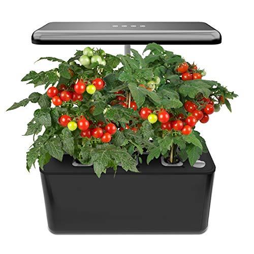 Indoor gardening kit with grow light