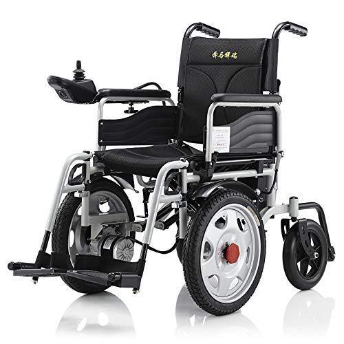 FTFTO Inicio Accesorios Ancianos Discapacitados Plegable Power Compact Mobility Aid Silla de Ruedas Silla de Ruedas eléctrica Ligera Scooter médico portátil Negro 25Km Negro 15km
