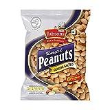 Lightly salted roasted peanuts 6 grams of protein Roasted peanut hand Roasting peanut