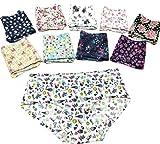 RAPID Women's Satin blend Seamless Printed No Line Panties - Pack of 3 (Multicolour, Medium, Large)