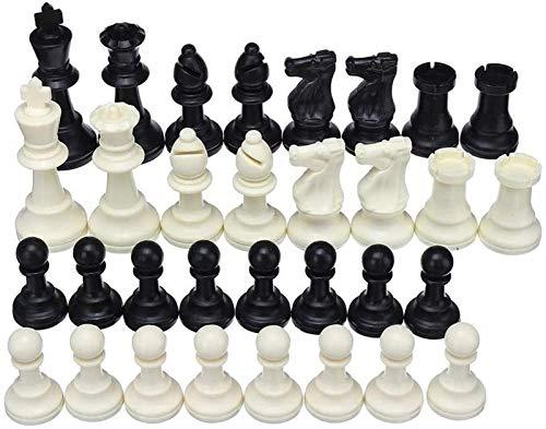 MARHD Schach Brettspiel Spiel Schach faltbar König Ritter Set Outdoor Freizeit Kinder Familie Reisen Camping Spiel 32 Stück für Kinder und Erwachsene