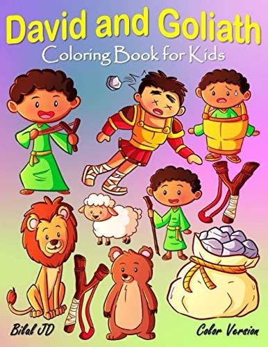 David and Goliath Coloring Book for Kids (David & Goliath Coloring Books)