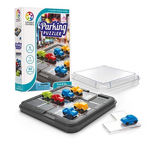 Smart Games-SG434ES cars Parking Puzzle, multicolor (Lúdilo SG434ES)