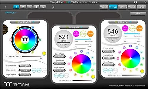 Thermaltake Floe Riing RGB 280 TT Premium Raffreddamento a Liquido