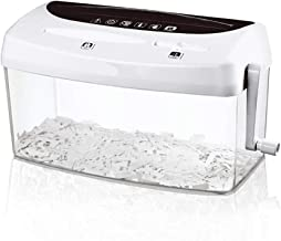 $74 » A4 Shredder Small Manual Hand Crank Household Portable Mini A4 Desktop Shredder,Mini Hand Shredder Portable Paper Shredder,CD Credit Card Office Shredder,USB Paper Shredder-Tool For School Office Home