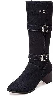 BalaMasa Womens ABS14045 Pu Boots