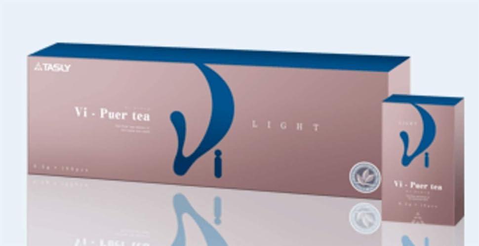 負荷百科事典味御中元特別価格 TASLY(タスリー) Vi-Pure tea LIGHT ヴィ?プーアール茶 (0.5g×100袋) JAS認証 自社管理基地 有機栽培 中国雲南省 大葉種プーアール茶エッセンス 5g100包入り(10包×10箱)