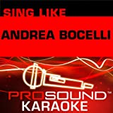 Time to Say Goodbye (Karaoke Instrumental Track) [In the Style of Andrea Bocelli]