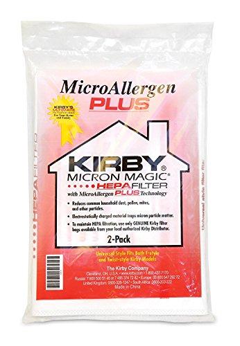Kirby 205814 Micron Magic - Filtro HEPA + Sacchetto, 2 Pezzi