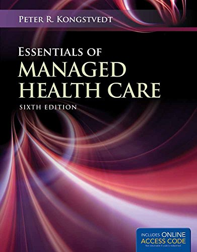 Download Essentials of Managed Health Care 1449653316