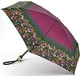 Ted Baker London Fern Forest Tiny Compact Folding Handbag Size Umbrella & Cover