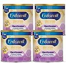 Enfamil Gentlease Sensitive Baby Formula Gentle Milk Powder, Omega 3 DHA, Probiotics, Iron & Immune & Brain Support, 19.9 oz Cans, Pack of 4 (Package May Vary)