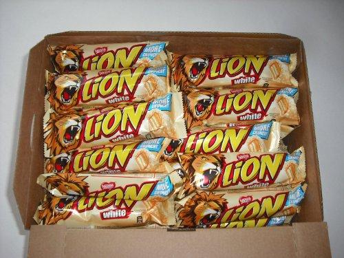 Nestle White Lion Bar - 1 x 10 individuales