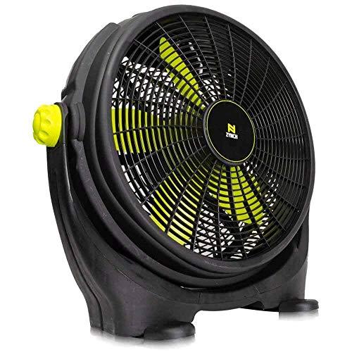 Ventilador de Piso de 20' con Perilla de 3 Velocidades .Giro vertical de 330°. Potente motor de 140 W.