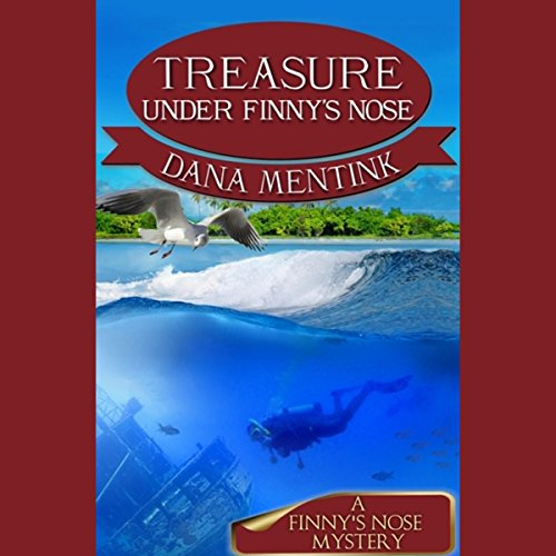 Treasure Under Finny's Nose audiobook cover art