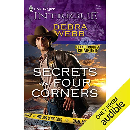 Secrets in Four Corners audiobook cover art