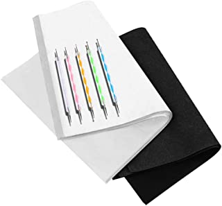100 Sheets Tracing Paper,Carbon Graphite Transfer Paper with 5 Pieces Embossing Styluses Stylus Dotting Tools for Wood,Pap...