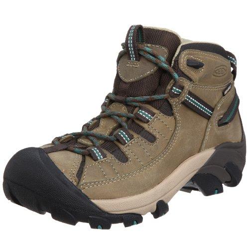 KEEN Women's Targhee 2 Mid Height Waterproof Hiking Boot, Laurel Oak/Deep Sea, 5.5 M (Medium) US