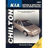 Chilton's Kia Sephia 1994-01 and Spectra 2000-04: 1996 Through 2002 (Chilton's Total Car Care Repair Manual)