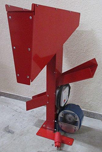 Feucht Obsttechnik Schalenentferner BLASIUS (Gebläse 300) - BLASIUS - Das Original Made in Germany Das Profi Gebläse Zum Einfachen trennen von Kernen und Schalen (Model 2017) Rot