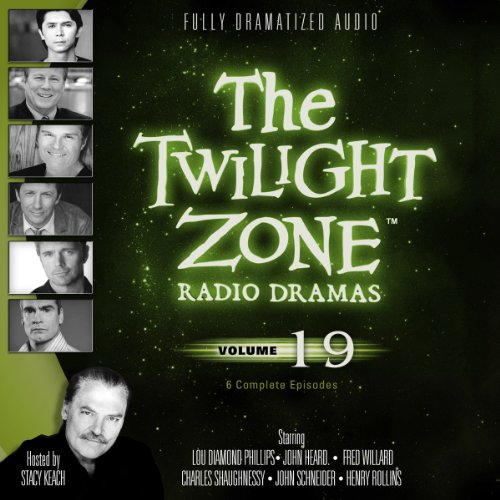 The Twilight Zone Radio Dramas, Volume 19 audiobook cover art