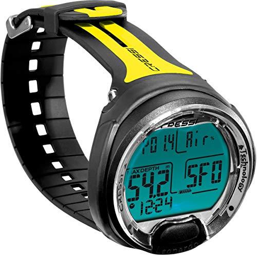Reloj amarillo de Buceo, Adultos Unisex,