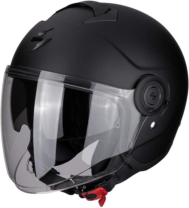Casco moto exo-city opaco nero xxxl scorpion 83-100-10-08