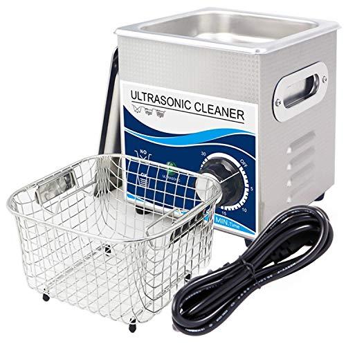 DAND Limpiador Ultrasonidos,Limpiador Ultrasónico Profesional 2L,40KHz con Temporizador Digital y Cesta para...