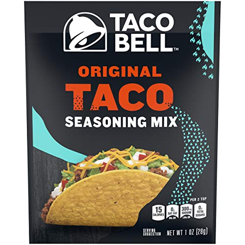 Taco Bell Seasoning Mixes (1 oz Packets, Pack of 24)