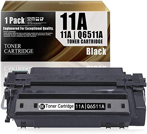 11A Q6511A 1 Pack Black Compatible Ink Cartridge Replacement for HP Laserjet 2430 2410 2420 product image