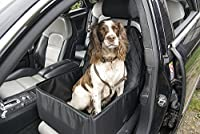 """2 in 1 dog car seat cover * Universal, this cover will fit many types of front car seat * For small to medium dogs * Height - 58cm (22.8"""") * Width - 45cm (17"""") * Depth (of basket) - 22cm (8.66"""") This cover quickly and easily converts from a regular c..."""