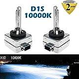 10000K D1S/D1C/D1R HID lampadina blu intenso Xenon lampade 35W fari auto sostituzione 35W OEM 85415C1854156614166142Plug & Play (set da 2)