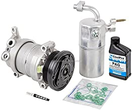 AC Compressor w/A/C Repair Kit For Chevy Silverado GMC Sierra 1500 V8 1999 2000 2001 2002 Replaces Delphi HU6 - BuyAutoParts 60-80142RK New