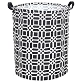 Sweet grape Large Storage Bins,Canvas Fabric Laundry Basket Collapsible Storage Baskets for Home,Office,Toy Organizer,Home Decor (Grey heart arrow)