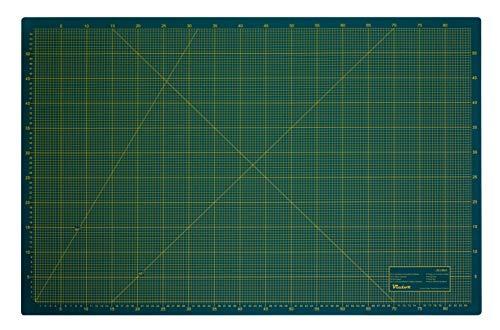 Schneidematte 3-lagig und selbstheilend grün schwarz 60x90cm A1