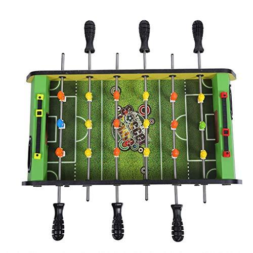 Tischkicker Kicker 3-10 Jahre Alte Kinder Spielzeug Geschenk 6-Sitzer Tischfußballmaschine Familienspielmaschine Geschenk Pädagogisches Spielzeug Fun-Sportarten ( Color : Green , Size : 47*24*17.5cm )