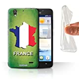 Stuff4 Phone Case for Huawei Ascend G630 Flag Nations