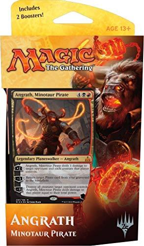 Magic MTG, Rivals of Ixalan, Angrath, Minotaur Pirate, Planeswalker Deck