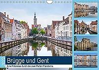 Bruegge und Gent, eine Fotoreise durch die zwei Perlen Flanderns. (Wandkalender 2022 DIN A4 quer): Gent und Bruegge faszinieren mit maerchenhafter Architektur und reicher Historie. (Monatskalender, 14 Seiten )