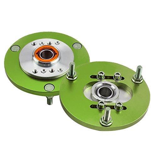 Tuningsworld 2x Domlager für E36 318 320 323 325 M3 Camber plate Grün Paar