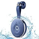 Aqua Dew - The World's First Splashproof Alexa Shower Speaker - WiFi and Bluetooth-Enabled Smart Waterproof Speaker with Alexa Built-in (Blue)