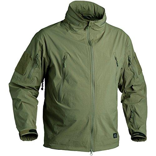Helikon Trooper Soft Shell Veste Olive Vert Taille XXL