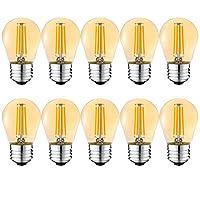 Dies sind nicht dimmbare LED-Glühbirnen, die nicht für Dimmer geeignet sind. Mit einer Farbtemperatur von 2700 Kelvin liefert die Glühbirne ein warmweißes Licht und schafft eine angenehme Atmosphäre in jedem Raum. Energie Sparen: Mit der 4W G45 e27 L...