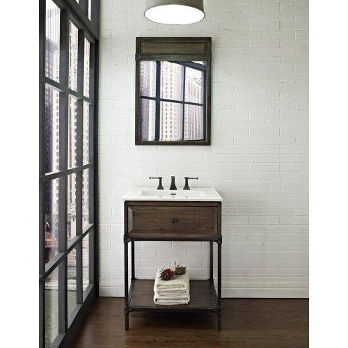 Fairmont Designs 24 Inch Toledo Open Shelf Vanity - Driftwood Gray