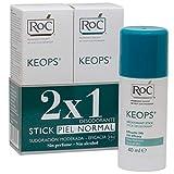 ROC KEOPS - Desodorante Stick Duplo, 40 ml (x2)
