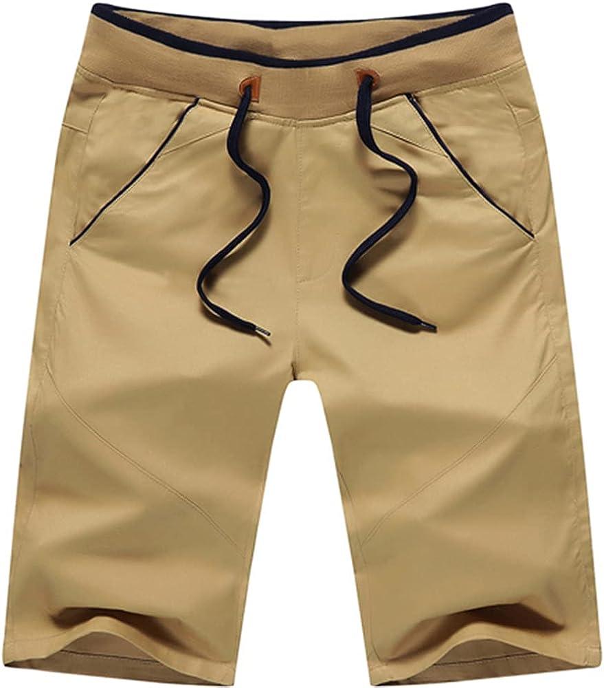 NP Mountainskin Summer Men's Shorts Mid Straight Thin Men's Beach Shorts Casual