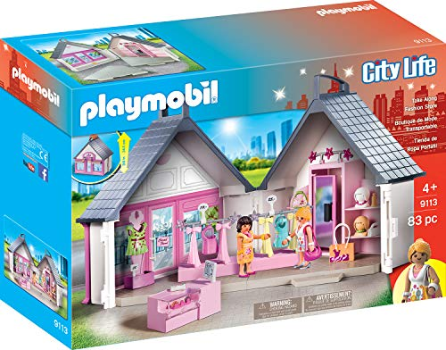 Playmobil 9113 Ciudad Compañía Moda Multicolor