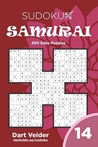 Sudoku Samurai - 200 Easy Puzzles 9x9 (Volume 14)