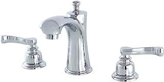 Kingston Brass KB7961FL Royale Widespread Lavatory Faucet, Polished Chrome